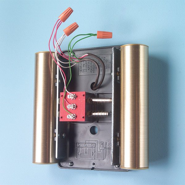 wiring diagram for doorbell transformer 1997 ford ranger parts adding a second chime | the family handyman