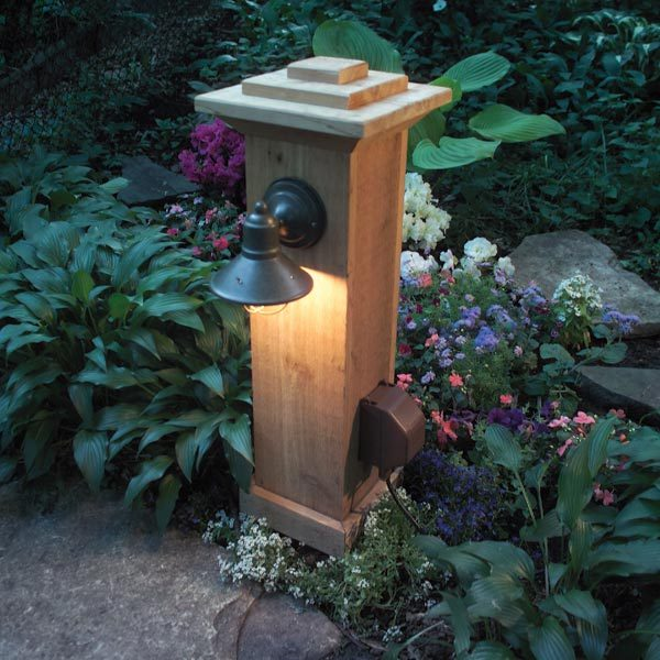 Electrical Wiring Outdoor Lamp
