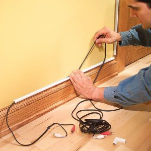 How To Hide Wiring: Speaker and LowVoltage Wire   The Family Handyman