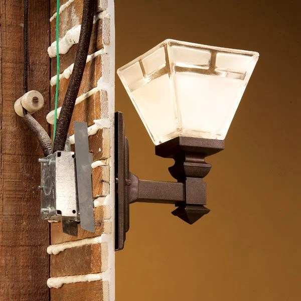 Electrical Wiring Light Fixture Installation