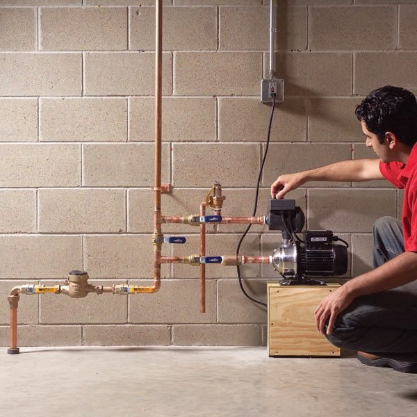 Boost Low Water Pressure in Your House  The Family Handyman