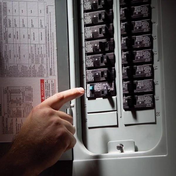 4 Pole Trailer Light Wiring Diagram Fix A Sensitive Arc Fault Circuit Breaker The Family