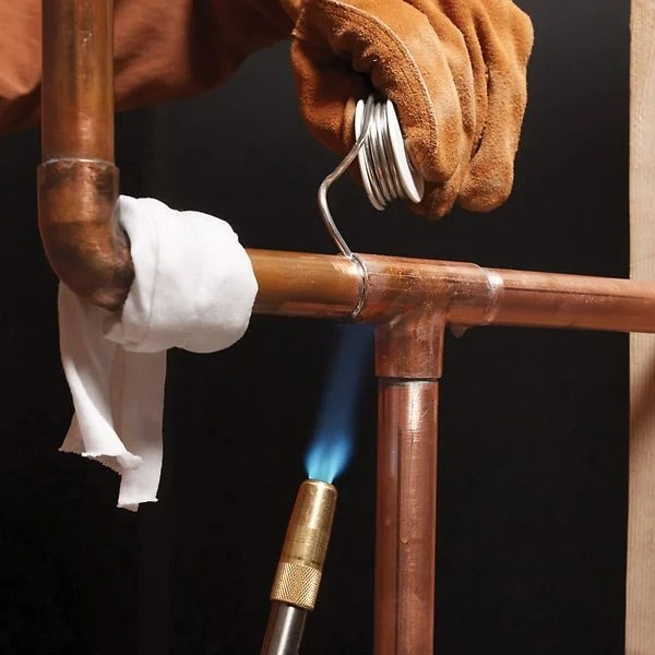 Soldering Copper Pipe  The Family Handyman