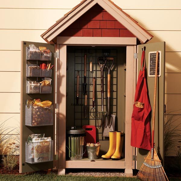 Backyard Storage Shed Ideas