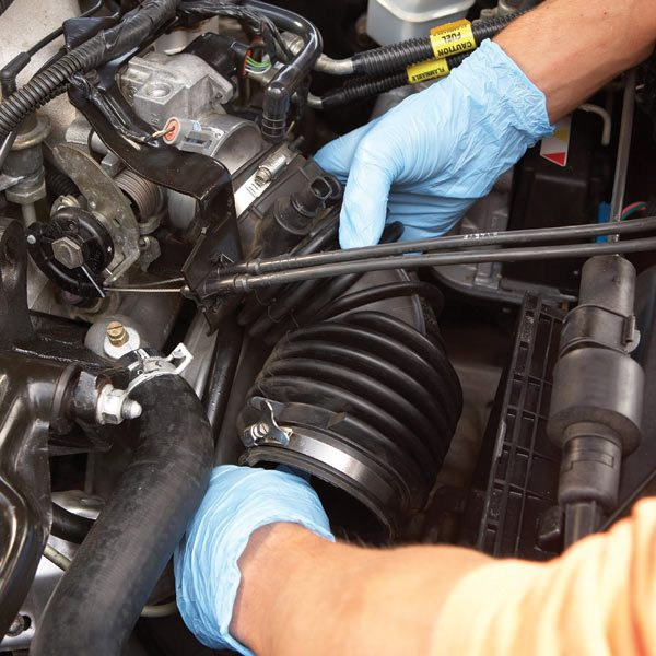 Galant Stereo Wiring Harness Diagram Cleaning A Throttle Body The Family Handyman