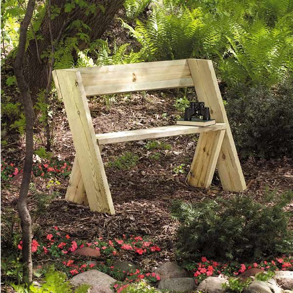 Build a Wooden Bench for Less  The Family Handyman