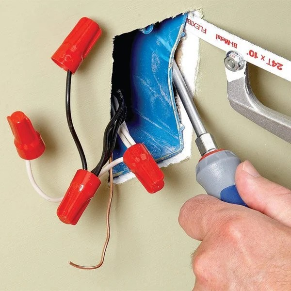 House Wiring On Wiring And Replacing A Light Fitting Diy Project