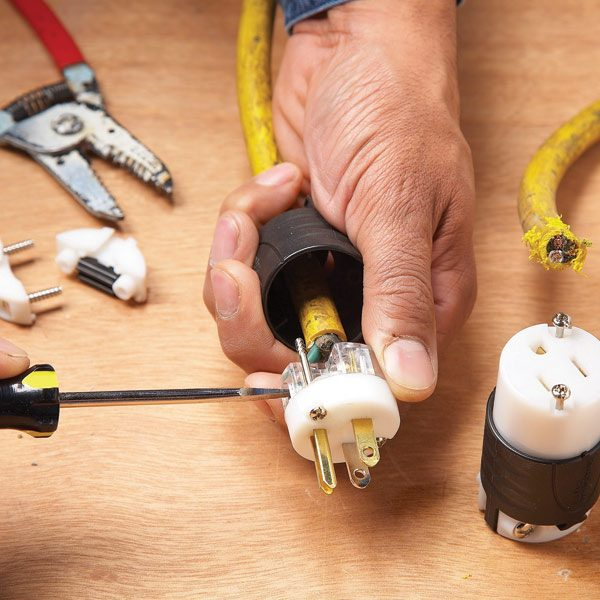 Hard Wiring Extension Cord