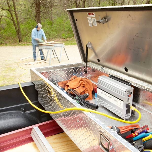 Solar Battery Charger Wiring Diagram Free Picture How To Turn Your Truck Into A Generator The Family Handyman