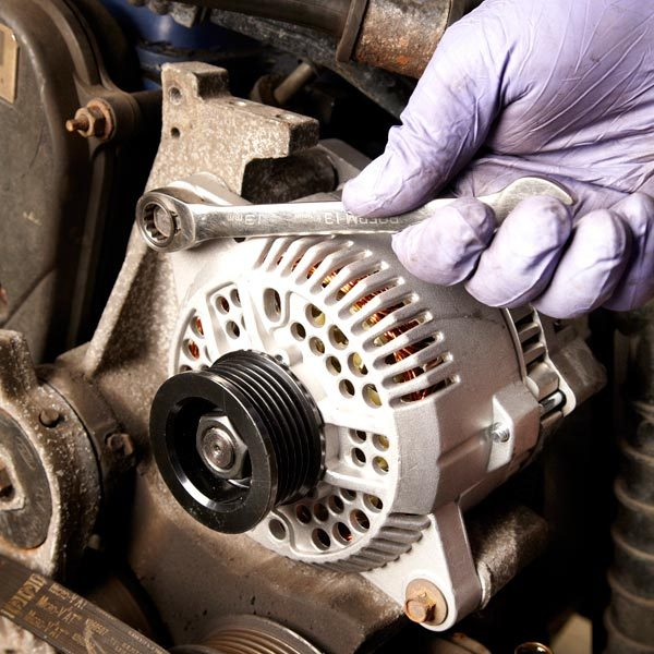 Ford Alt Wiring Diagram How To Replace An Alternator The Family Handyman