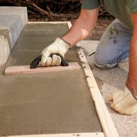 Repair or Replace - Pouring Concrete Steps | The Family ...