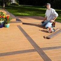 How to Build a Deck Over a Concrete Patio | The Family ...