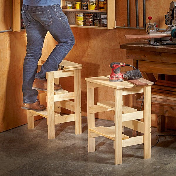 Ridiculously Simple Shop Stool Plans  The Family Handyman