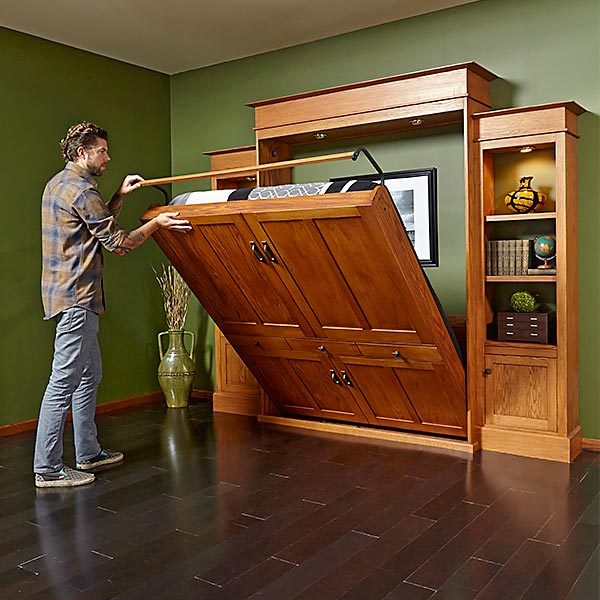 Murphy Bed  Bookcase  The Family Handyman
