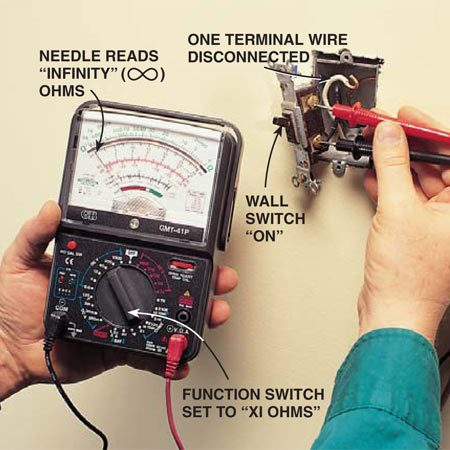 110v Breaker Wiring Diagram How To Use A Multimeter The Family Handyman