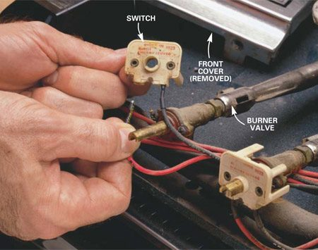 electrolux dryer wiring diagram iphone 4 charger wire how to repair a gas range or an electric | the family handyman
