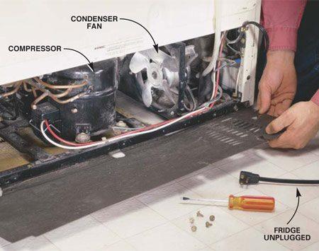 Ge Refrigerator Water Solenoid Wiring Diagram How To Avoid Refrigerator Repairs The Family Handyman