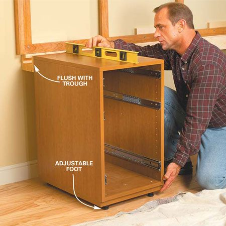 how to install base cabinets | Nrtradiant.com