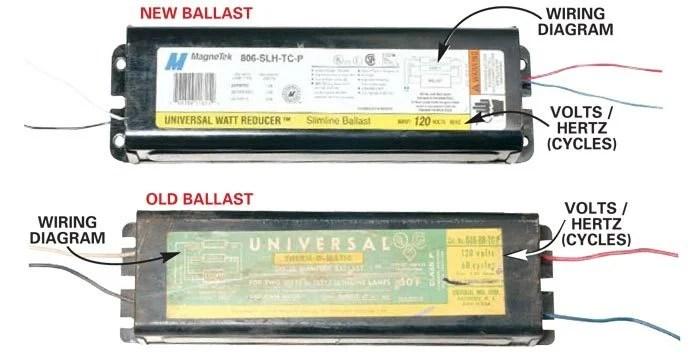 Replacing Fluorescent Light Bulb