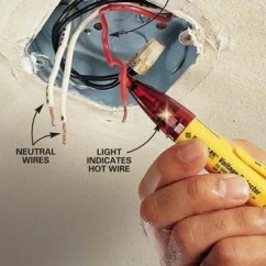 Ceiling Fan Wiring Diagram One Switch Kawasaki Brute Force 750 How To Hang A Light Fixture | The Family Handyman