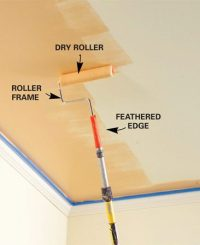 What Causes Ceiling Paint To Peel. Shower Ceiling Paint