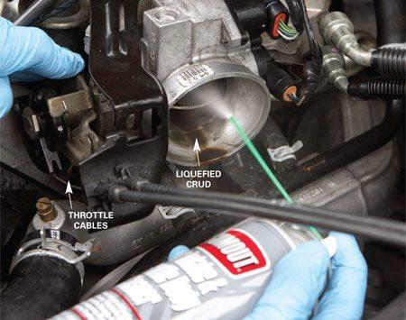 2005 Nissan Altima Maf Wiring Diagram Cleaning A Throttle Body The Family Handyman