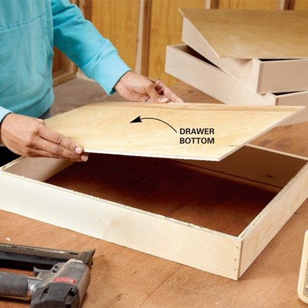 How to Build UnderCabinet Drawers  Increase Kitchen