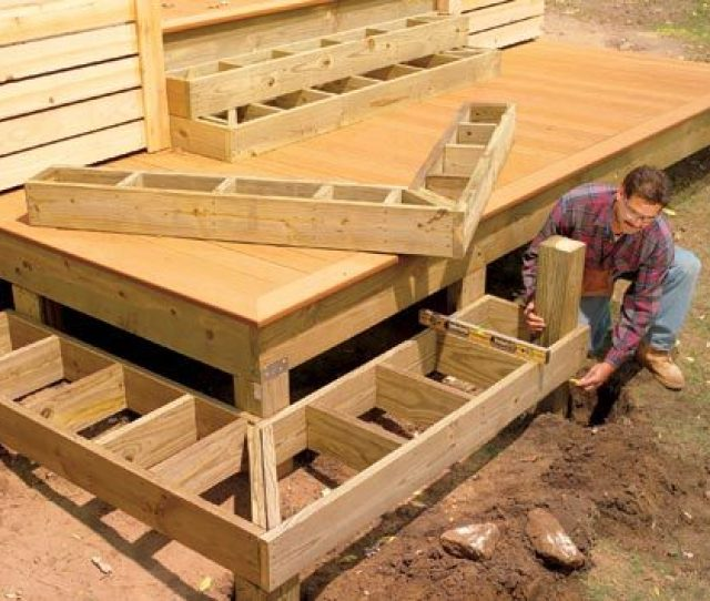 Stack Boxes For Wrap Around Steps