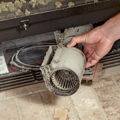 4 Way Circuit Wiring Diagram Single Line Noisy Gas Fireplace Blower? Here's How To Replace It | The Family Handyman