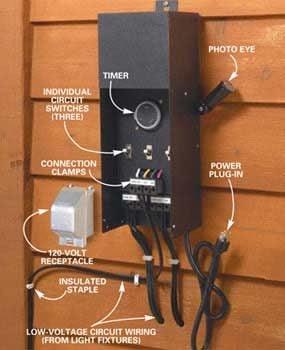 how to install deck lighting diy