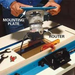 How To Mount A Router Under A Table