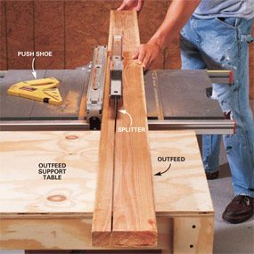How To Cut A 4×4 With A Table Saw