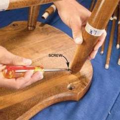 Fixing Wooden Chairs Party For Rent Fix A Wobbly Chair Reglue The Family Handyman Photo 3 Remove Screws And Nails