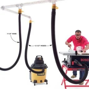Overhead Dust Collection System