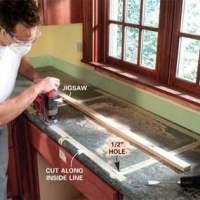 Install a Laminate Kitchen Countertop | The Family Handyman