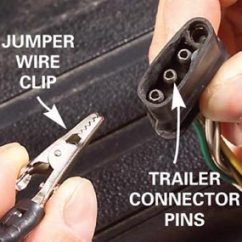 Trailer Wiring Diagram Electric Brakes 2010 Pontiac Vibe Stereo Fix Bad Boat And Utility The Family Handyman Photo 2 Close Up Of Connector Pins