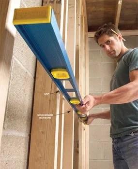 How to Straighten Bowed Stud Walls  Family Handyman
