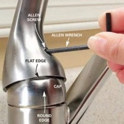 Kitchen Faucet Repair Cheapest Place To Buy Cabinets How A Single Handle The Family Handyman Ball Type