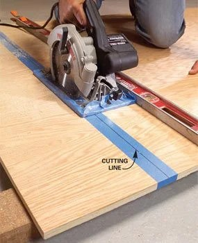 How To Cut Plywood With A Circular Saw : plywood, circular, Create, Circular, Cutting, Guides, Plywood