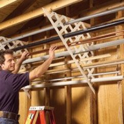 Folding Chairs For Boats Massage Inserts Garage Storage: Diy Tips And Hints | The Family Handyman