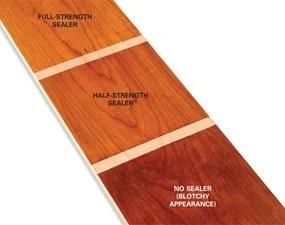 Homemade Sealer For Wood