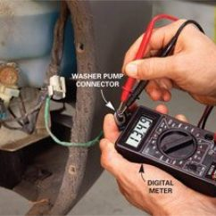 Well Pump Switch Wiring Diagram 3000gt Ignition Windshield Washer Repair: How To Fix Your Window | The Family Handyman
