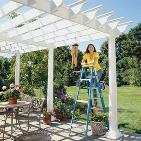 How To Shade Your Deck Or Patio With A DIY Awning