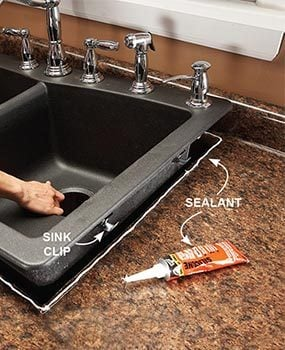 replace a sink install new kitchen