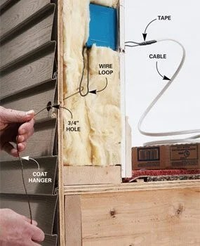 light switch wiring diagram uk 2003 ford explorer radio how to add an outdoor electrical box | the family handyman