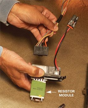 Car Heater Repair Tips Fixing A Blower Motor Family Handyman