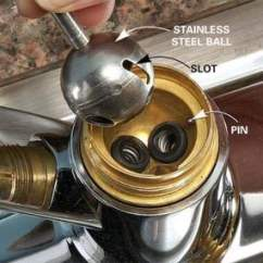 Kitchen Faucet Repair Ceiling Lights Repairs: Fix A Drippy Ball-type | The Family ...