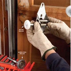 How to Fix a Noisy Garage Door with Garage Door Lube and Other Tips  The Family Handyman