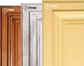spraying kitchen cabinets furniture for small how to spray paint — the family handyman