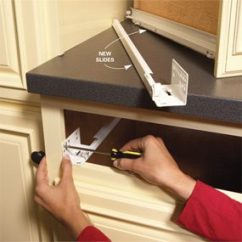 Repair Kitchen Cabinets Mirrors Home How To Fix The Family Handyman Problem Drawer